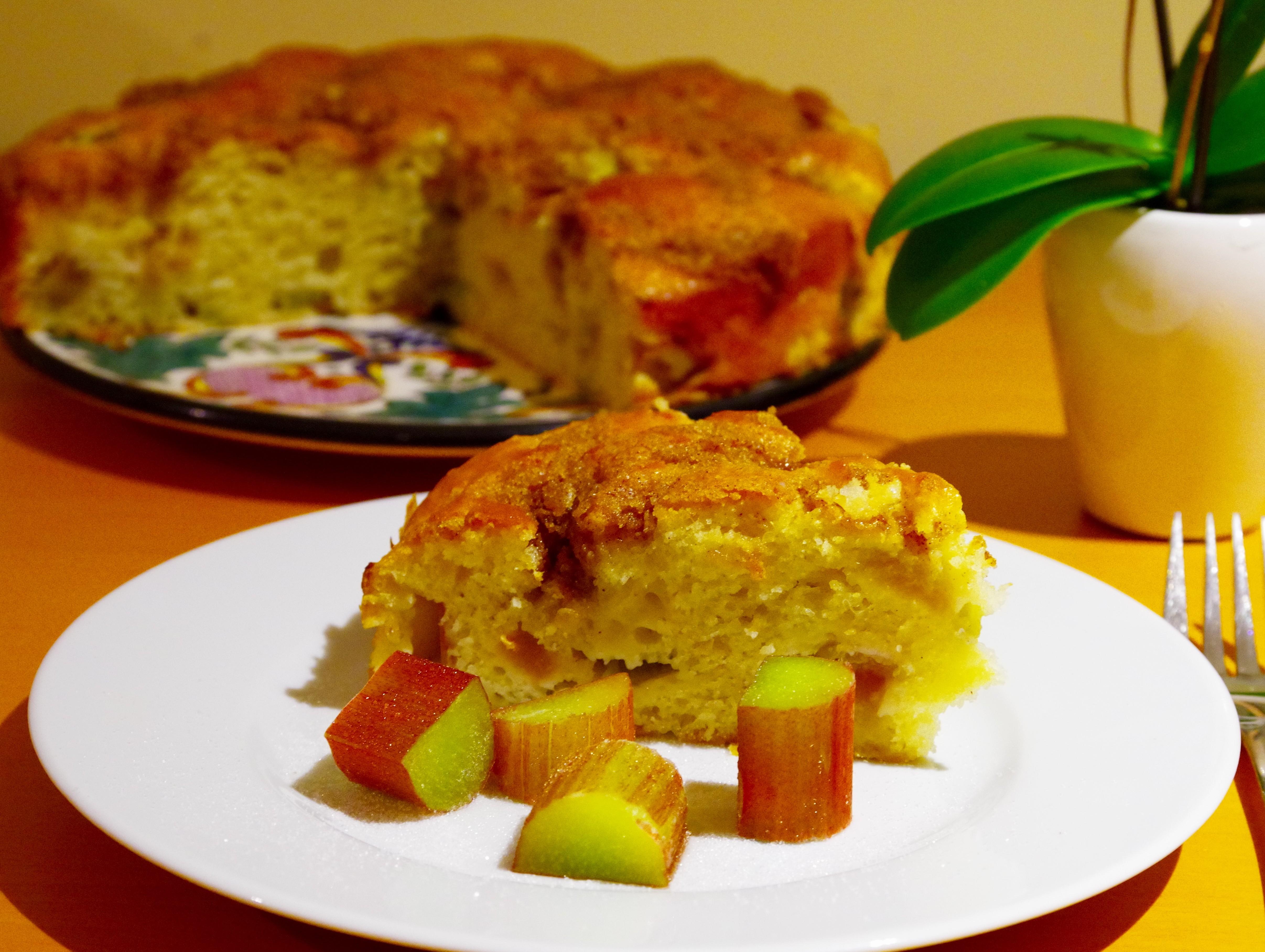 Best rhubarb cake ever!