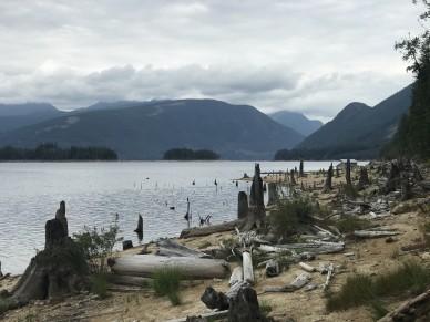 Sunshine Coast Trail Lois Lake