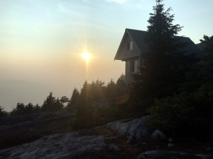 Sunshine Coast Trail Tin Hat Hut